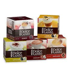 Nescafe Dolce Gusto Coffee Pods   Choose From 6 Flavours x16 Pack
