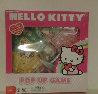 HELLO KITTY Official POP UP BOARD Game KIDS AGES 3 and Up