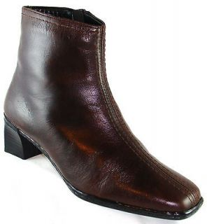 Rieker Antistress Carola Brown Ankle Shearling Lined Boots 7/37 10/41