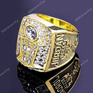 1998 Basketball CHICAGO BULLS Michael Jordan Champion Ring Replica
