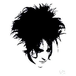 Robert Smith The Cure retro new wave post punk t shirt