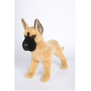 14 Brute Great Dane Dog Plush Stuffed Animal Toy