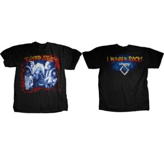 TWISTED SISTER   I Wanna Rock   Official T SHIRT Sizes S M L XL Brand