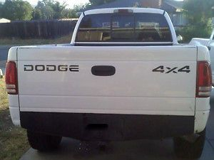 Dodge Ram 4x4 tailgate lettering Decal.