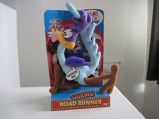 13 Looney Tunes TALKING ROAD RUNNER BEEP BEEP Collectible Plush