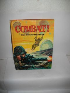 VTG WHITMAN 1964 BOOK~COMBAT~B ASED ON WWII TV SERIES