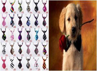 Pet Dog Cat Poodles Teddy boys kids handsome bow tie Necktie clothes