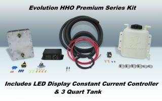HHO ALL STEEL DRY CELL Hydrogen Generator water4gas kit CCPWM efie