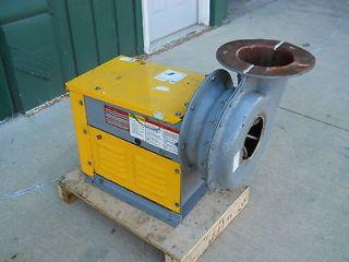 Binks exhaust fan spray paint booth fume blower xlnt for Paint booth fan motor