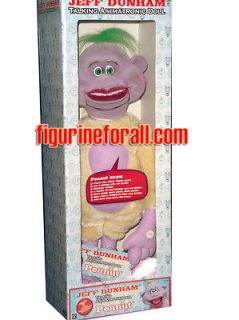 NECA Jeff Dunham PEANUT 18 Animatronic Talking Plush Figure inch IN