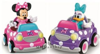 Fisher Price CLUBHOUSE Mickey Minnie Mouse Minnies Car and Daisy Car