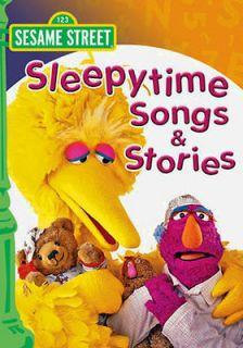 SESAME STREET SLEEPYTIME SONGS & STORIES DVD NEW KIDS BED TIME MOVIE