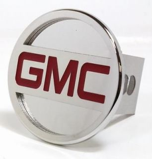 GMC Logo Chrome / Stainless Steel Trailer Tow Hitch Cover TGMC2C