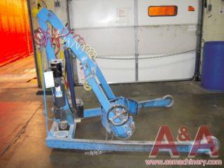 Morse Hydra Lift Drum Carrier, 850 lb Cap