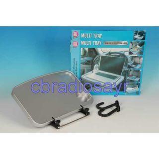 All Ride Multi Purpose Silver Metallic Steering Wheel Tray   Vehicle