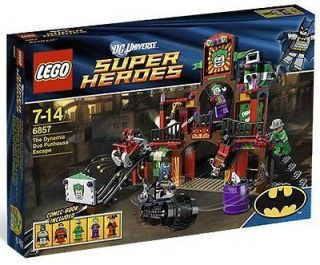 Lego Super Heroes The Dynamic Duo Funhouse Escape 6857
