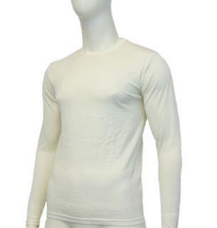 EDZ Merino Wool Base Layer Long Sleeve Mens White