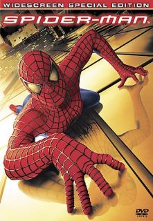 listed Spider Man (DVD, 2002, 2 Disc Set, Special Edition Widescreen