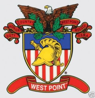 ARMY WEST POINT MILITARY ACADEMY CAR WINDOW DECAL