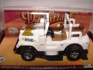 JL, AFX, AW, DUKES OF HAZZARD ~ DAISY DUKES JEEP CJ 5 ~ BY AUTO WORLD