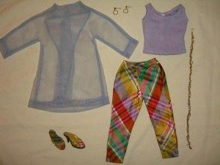Original EMME Tonner Doll Spring Summer OUTFIT 2002 Capri Pants Top