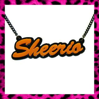 ED SHEERAN SHEERIO NECKLACE PLUS LEGO HOUSE A TEAM ORANGE PAW GIFT