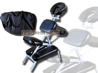 New Massage Chair Portable With Carry Bag Salon Black