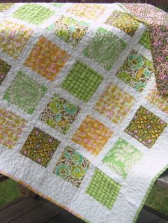 QUILT PATTERN Fat Quarters QUICK Easy beginner fast