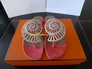 AUTHENTIC BRAND NEW Hermes Elbe sandals shoes flats sz 36 6