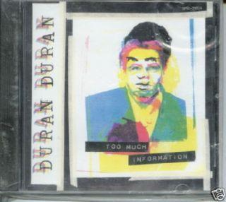 Duran Duran Too Much Information USA promo CD single