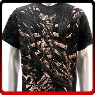 r26 M L XL XXL XXXL Rock Eagle T shirt SPECIAL Tattoo Skull Skeleton