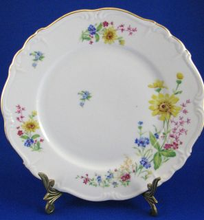 Edelstein Bavaria Yellow DaisyFloral #17205 ALICE 10 1/8 DINNER