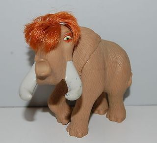 2005 Ellie Mammoth 3.75 Ice Age 2 The Meltdown Burger King Action