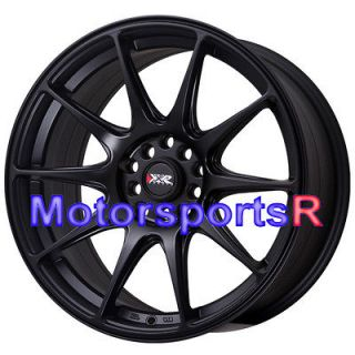 XXR 527 Flat Black Concave Rims Wheels 5x114.3 02 06 Acura RSX Type S