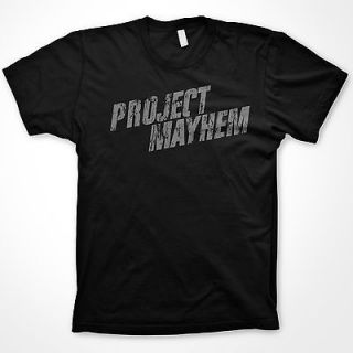 Project Mayhem tshirt Fight Club shirt Tyler Durden t shirt funny
