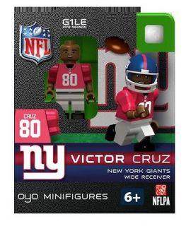 Victor Cruz Oyo Mini Fig Figure Lego Compatible New York Giants NIP