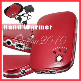 USB Charger Pocket Portable Electric Hand Warmer Heater Rechargeable
