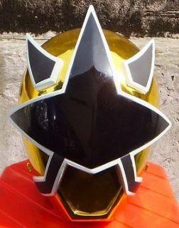 Cosplay Morphin Power Rangers GOLD SAMURAI Ranger 1/1 Scale Helmet