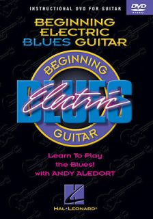 Beginning Electric Blues Guitar Lessons How To Play DVD Hal Leonard
