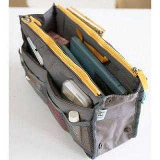 CHIC 8 Color Travel Insert Handbag Organiser Purse Large liner