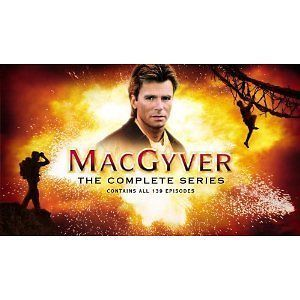 MACGYVER  THE COMPLETE SERIES (NEW & SEALED R1 DVD) 39 DISCS