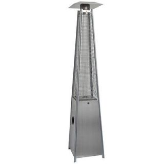NEW Commercial Tall Stainless Steel Pyramid Outdoor Patio Heater