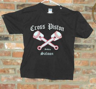 Outlaws M/C Cross Piston Saloon T Shirt