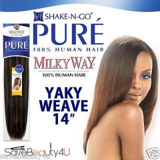 Yaki Human Hair Curly Weave 54
