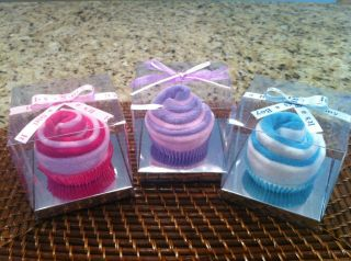 Precious baby Wash Cloth Cupcakes Baby Shower Gift or Decorations