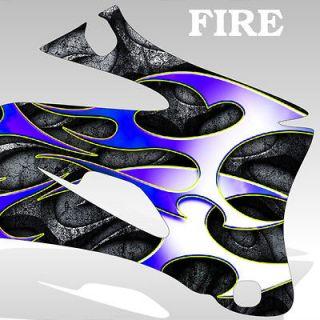 1997 2005 Yamaha TTR 600 Graphics KIt Decal Sticker FIRE decal