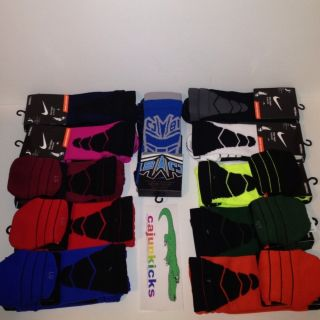 Nike VAPOR Elite Socks L (8 12) Megatron Volt ALL colors Rare