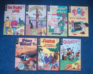 Vintage King comic book lot 1973 Blondie Felix the Cat Beetle Bailey