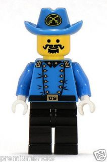 LEGO Western CAVALRY COLONEL Civil War Union Minifig Minifigure 6706