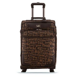 Guy Laroche Carry on Luggage Travel Bag UNICORN 24 Brown